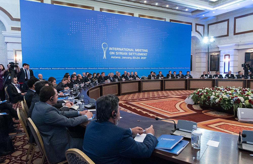 Переговоры посирийскому урегулированию вАстане пройдут зазакрытыми дверьми