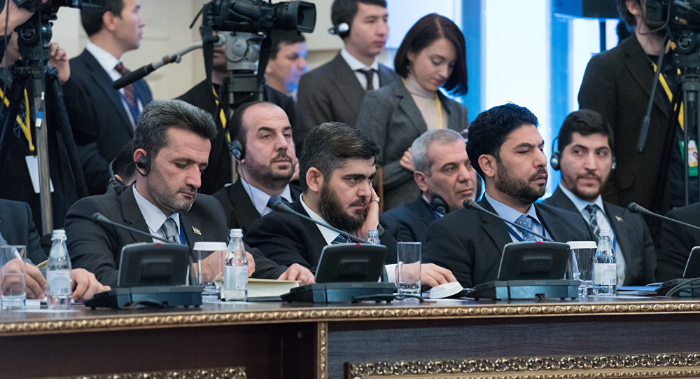 Вооруженная оппозиция Сирии выдвинула условия для участия впереговорах вАстане