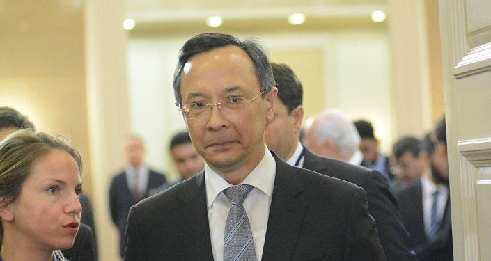 Глава МИД РК Кайрат Абдрахманов
