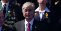 Президент, сын фронтовика: Токаев принял участие в параде Победы – видео