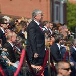 Президент Казахстана посетил военный парад по случаю 75-летия Победы