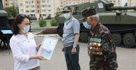 Сертификаты памяти вручили родственникам участников Великой Отечественной войны