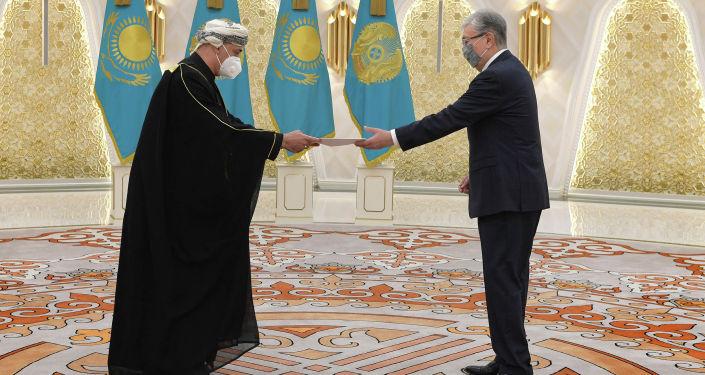 Президент Касым-Жомарт Токаев принял верительные грамоты послов ряда государств