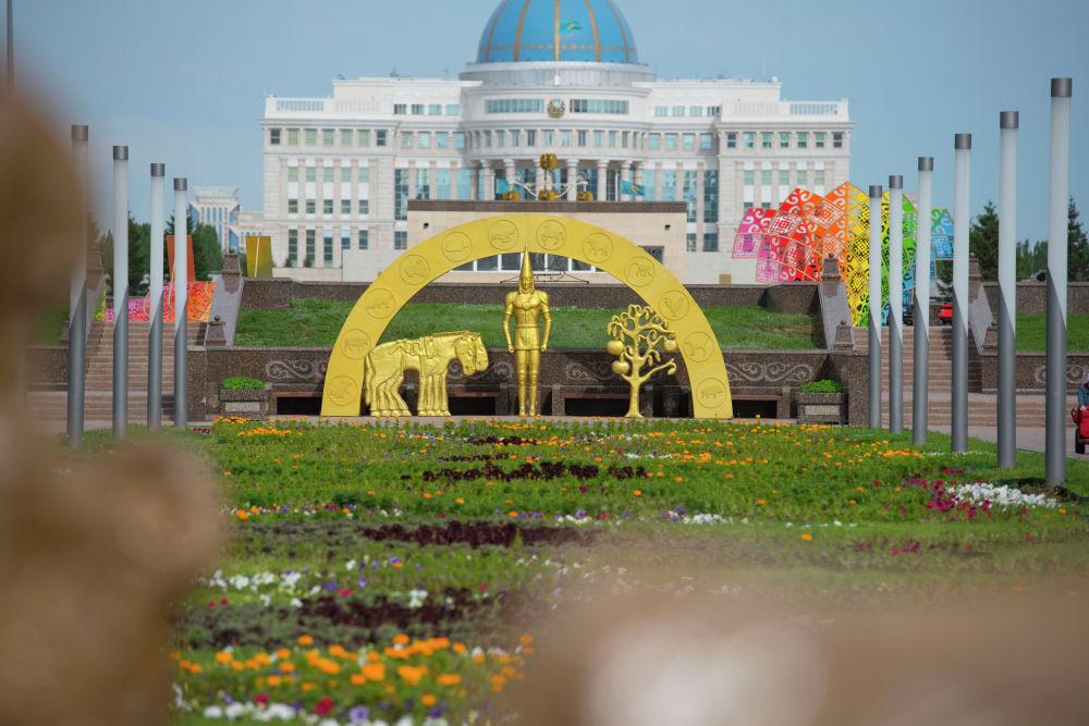 Оформление столицы ко Дню города