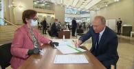Владимир Путин проголосовал по поправкам к Конституции России