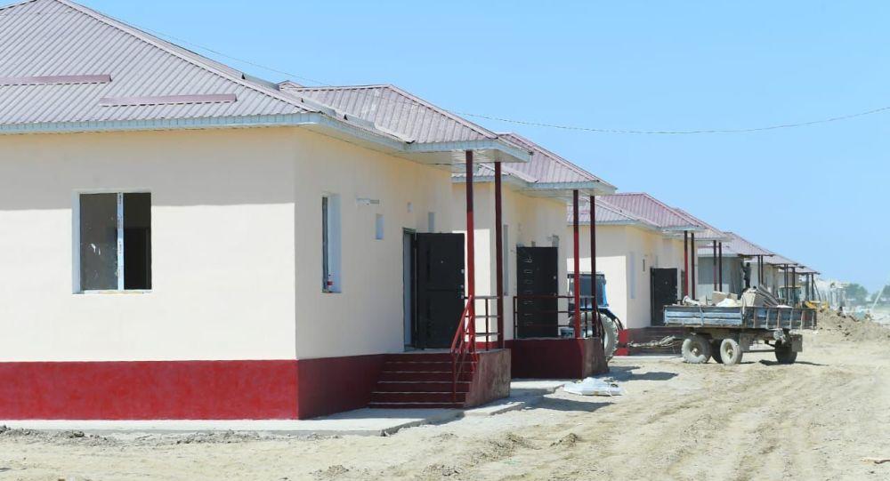 Строительство жилых домов в Мактааральском районе