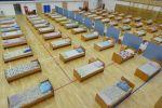 Госпиталь для больных COVID-19 во дворце спорта Баянаул в Павлодаре