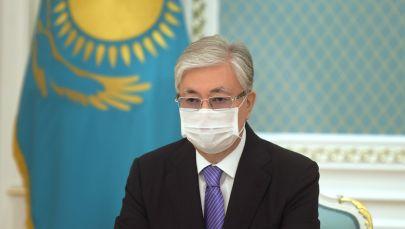 Касым-Жомарт Токаев принял участие в церемонии открытия монумента Елбасы в режиме онлайн-конференции