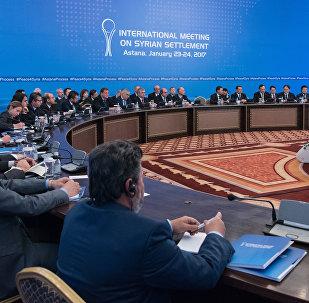 Первый раунд сирийских переговоров в Астане