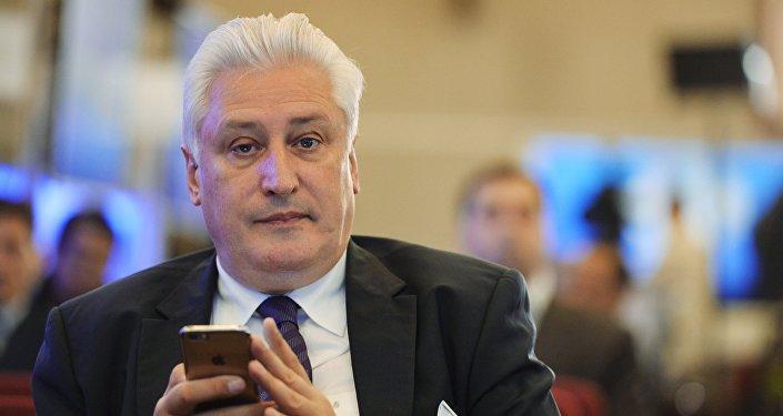 Российский военный эксперт Игорь Коротченко
