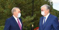 Касым-Жомарт Токаев поздравил Елбасы Нурсултана Назарбаева с юбилеем