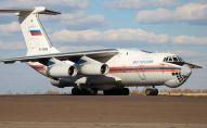 Ресей ТЖМ ұшағы гуманитарлық көмек жеткізді