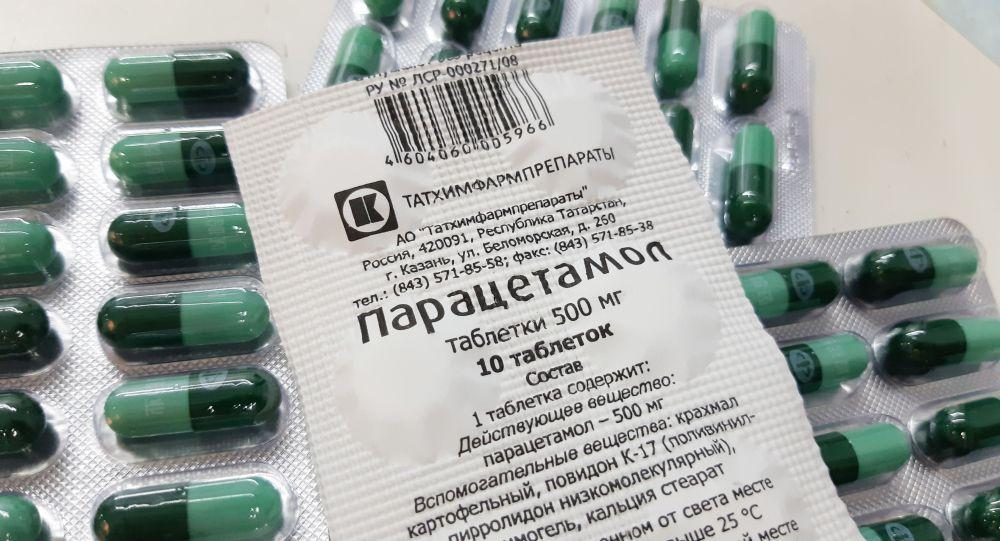 Парацетамол, дәрі, таблетка