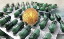 Таблетки, лекарства, деньги