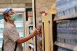 Супермаркетте маска киген ер адам