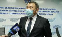 Умер главный санитарный врач Алматинской области Кайрат Баймухамбетов