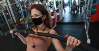 Возобновление работы фитнес-клуба, архивное фото