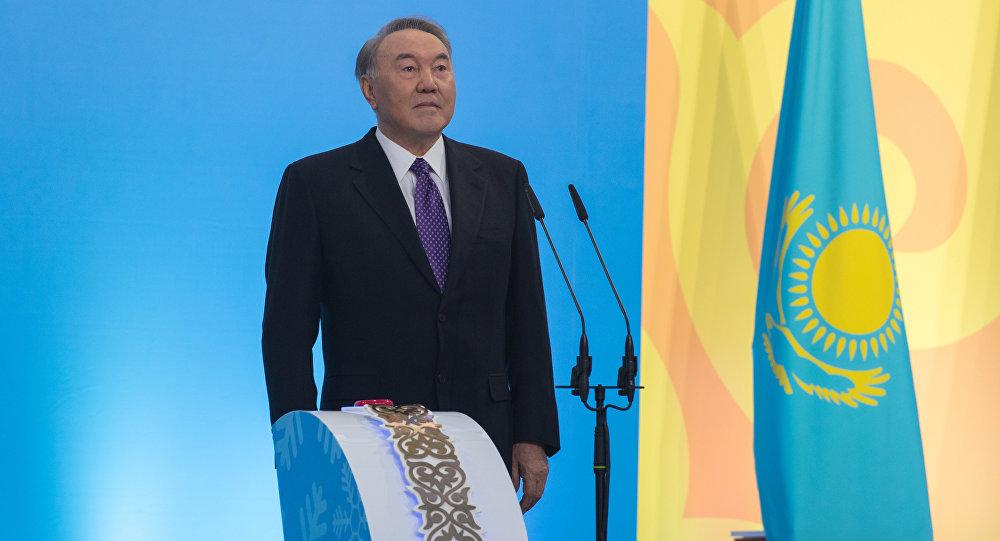 Президент Казахстана Нурсултан Назарбаев, фото из архива