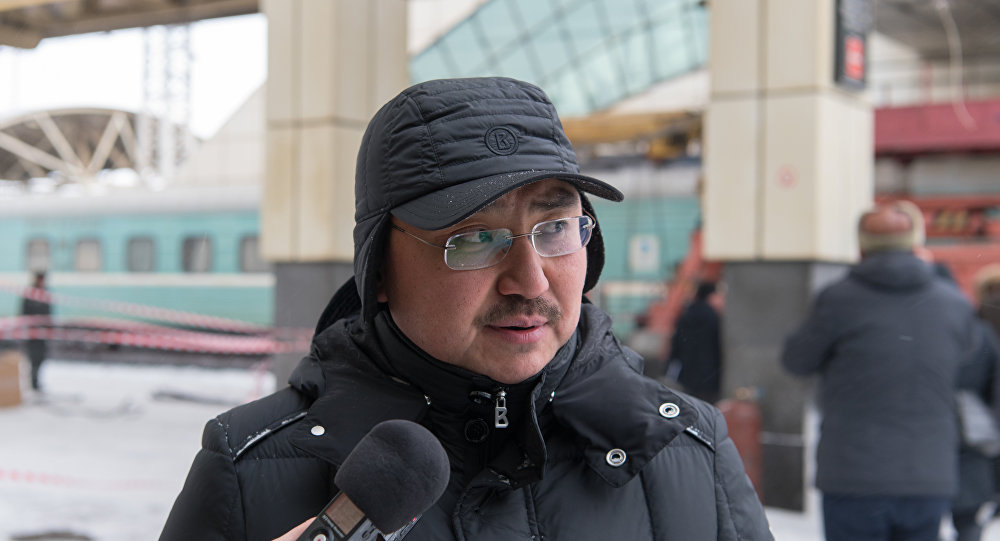 Директор департамента вокзального хозяйства НК КТЖ Жубан Корекбаев