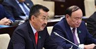 Депутат Сената Парламента Республики Казахстан Серик Бектурганов