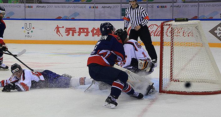Русские хоккеистки разгромили американок наУниверсиаде