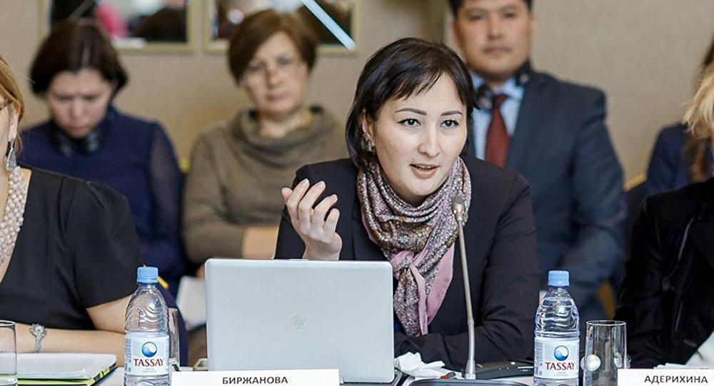 Юрист правового медиа-центра Гульмира Биржанова