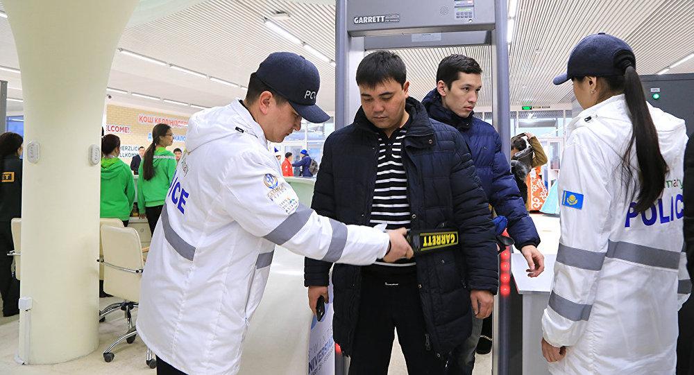 Открытие атлетической деревни Универсиады-2017 в Алматы