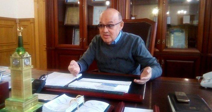 Ректор Центрально-Казахстанской академии Бахтыбай Жунусов