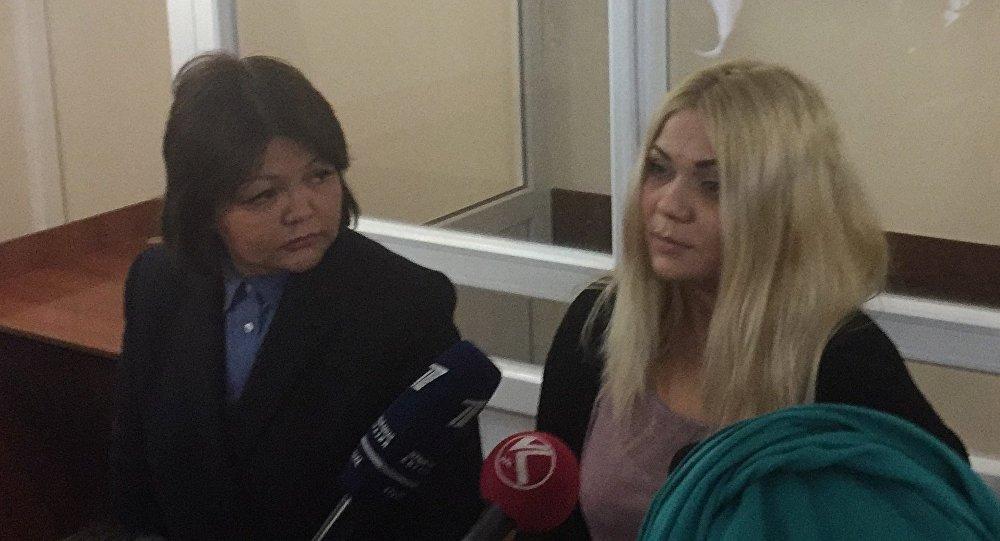 Наталья Слекишина в суде