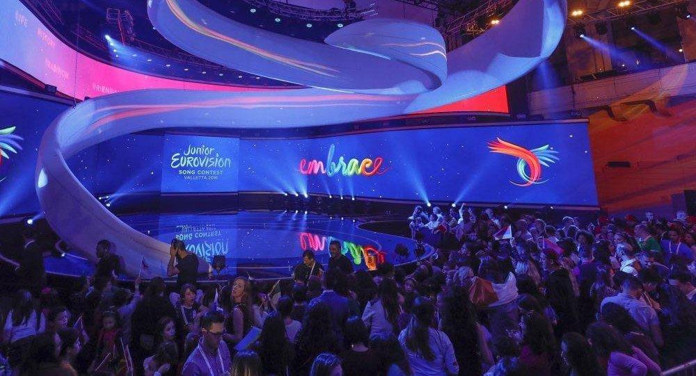 Сцена Детского Евровидения-2016