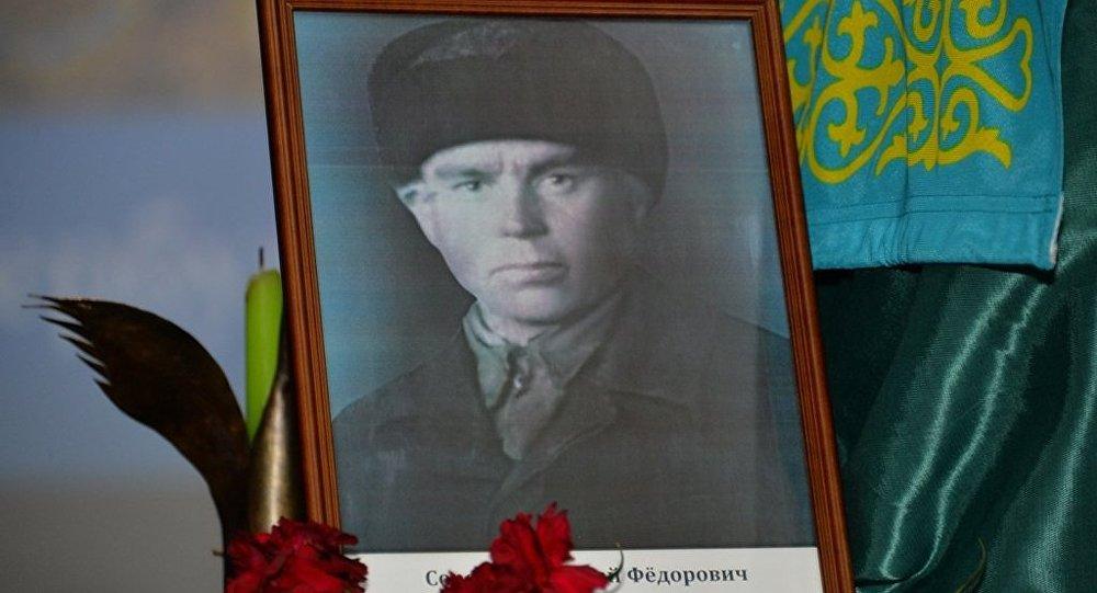 Портрет Николая Сорокина
