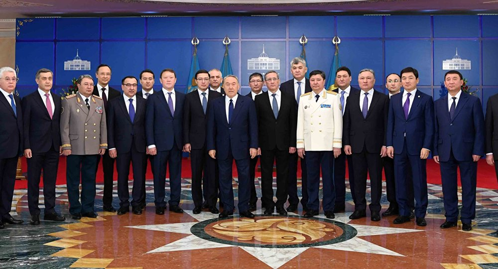 Церемония принесения присяги политическими государственными служащими