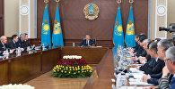 Нұрсұлтан Назарбаевтың төрағалығымен үкіметтің кеңейтілген отырысы