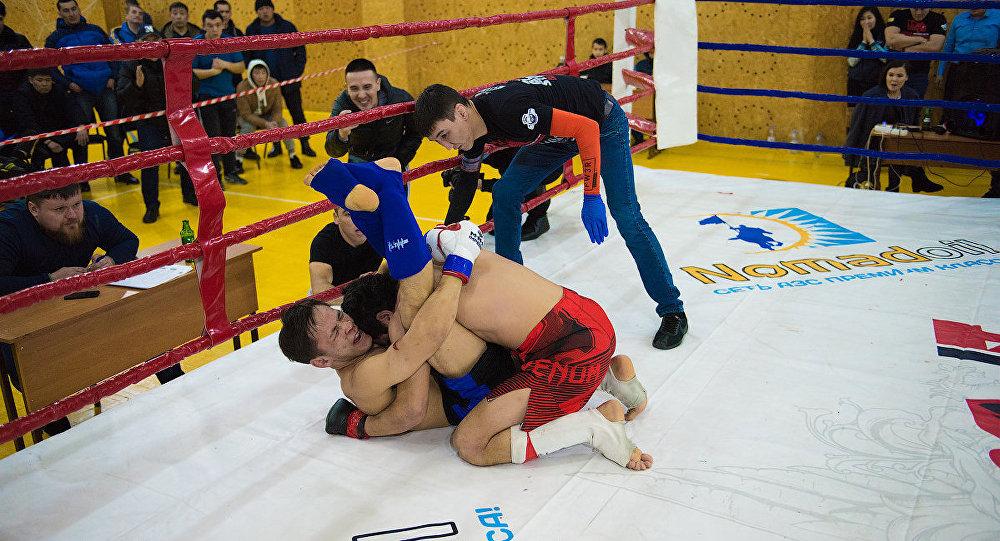 Ерназ Мусабек одержал победу досрочно