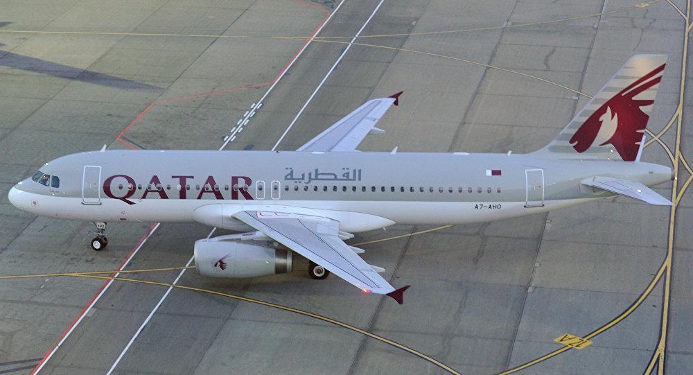 Архивное фото самолета Qatar Airways