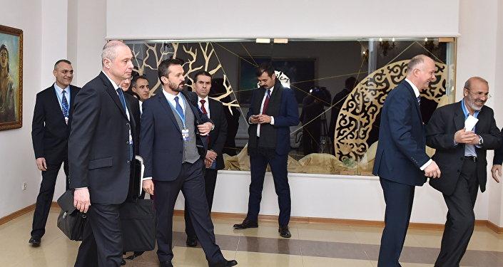 Астанадағы Сирия бойынша кездесу