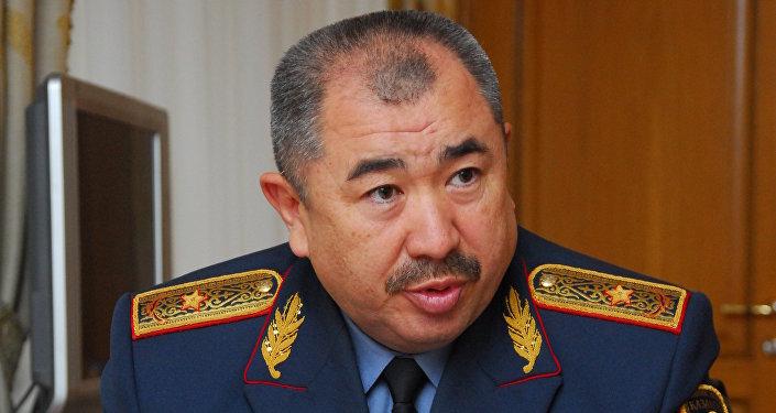 Ерлан Тургумбаев - министр внутренних дел