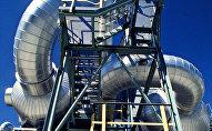 Нефтяное месторождение Тенгиз в Казахстане