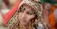 Индийская девушка, архивное фото