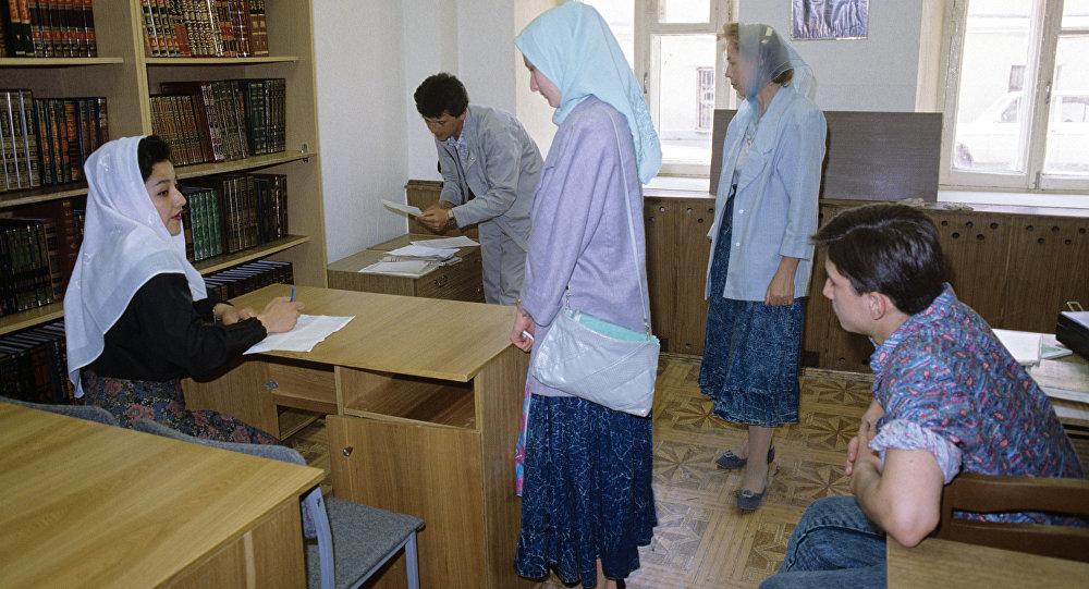 медреседегі студенттер