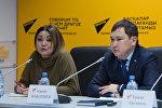 Проблему групп смерти в соцсетях обсудили на пресс-конференции в Астане