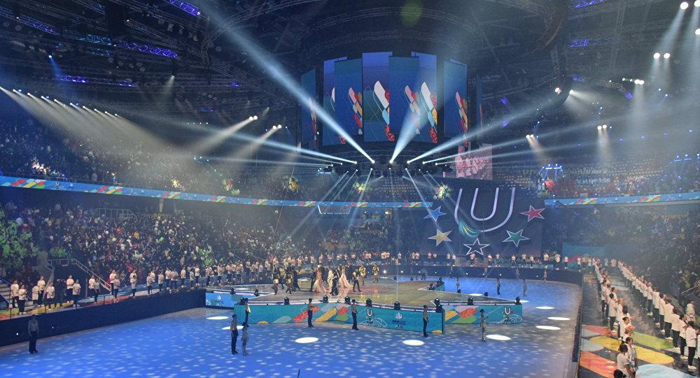Красноярск принимает уАлматы эстафету зимней Универсиады
