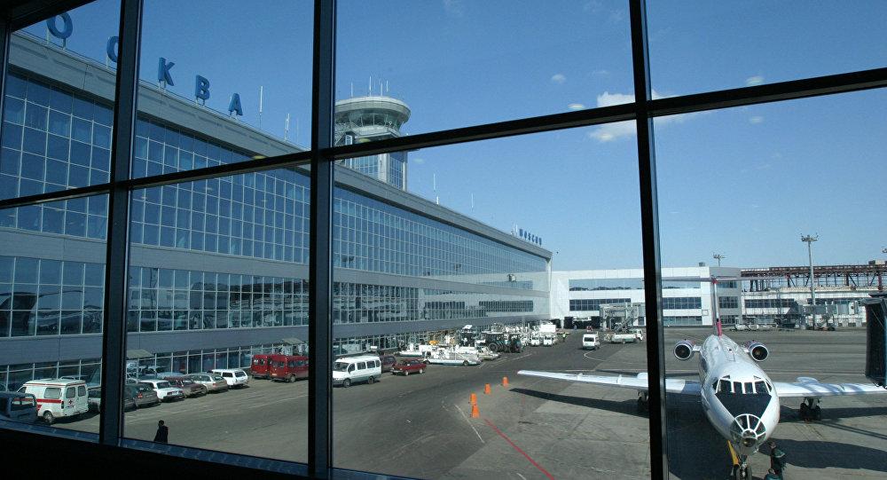 Архивное фото  аэропорта Домодедово
