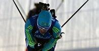 Архивное фото казахстанских биатлонистов