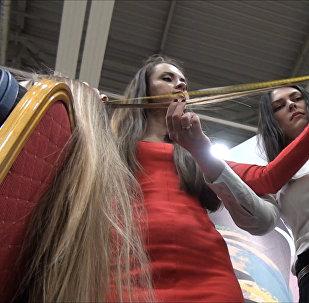 Самую длинную косу выбрали в Ростове-на-Дону