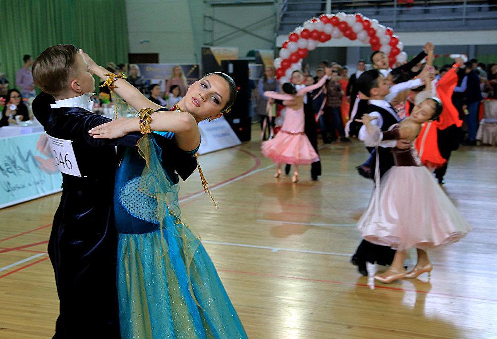 Международный турнир по спортивным танцам Love Story-2017 в Алматы