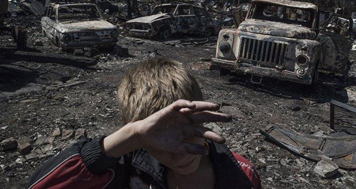 Фотография из серии Черные дни Украины