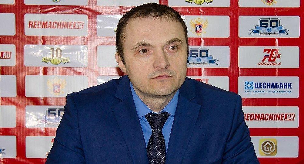Рязань хоккей клубының тәлімгері Алексей Алексеев