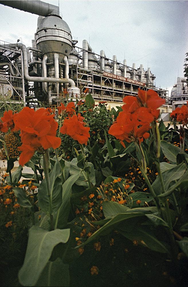 Шевченковская атомная электростанция. Опреснительная установка