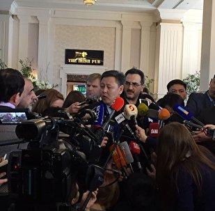 Директор департамента Азии и Африки министерства иностранных дел РК Айдарбек Туматов